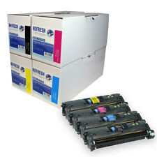 Refresh Cartridges Q3960A Q3961A Q3962A Q3963A Q3964A Toner Compatible Con Hp
