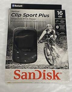 SanDisk - Clip Sport Plus 16GB* MP3 Player - Black