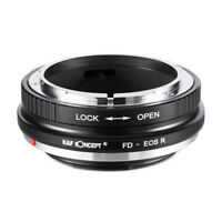 New K&F Concept adapter for Canon FD lens to Canon EOS RF R5 R6 camera