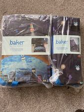 New Ted Baker Rocket Boys Double Duvet Cover Set And Fitted Sheet Bedding