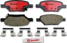 Disc Brake Pad Set-Premium NAO Ceramic OE Equivalent Pad Rear Brembo P10031N