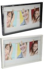 Cadre d'image 43 x 27 x 3 cm MDF Cadre Photo Cadre Blanc