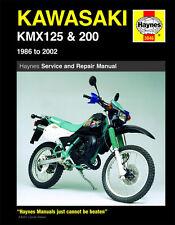 Kawasaki KMX125 KMX200 1986-2002 Haynes Manual 3046 NEW