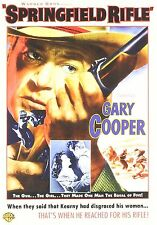 SPRINGFIELD RIFLE GARY COOPER  WARER  REGION 1 THINPACK CASE DVD FREE SHIPPING