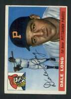 1955 Topps #127 Dale Long EX/EX+ RC Rookie Pirates 85800