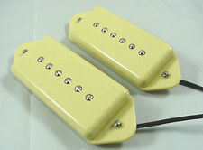 SET OF CREAM DOGEAR GUITAR PICKUPS DOG EAR front + back - PICKUP SET