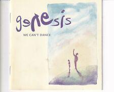 CD GENESISwe can't dance1991 UK EX+  (B5616)