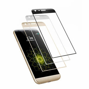 3D Edge Full Curved Coverage Tempered Glass Film Screen Protector For LG G5