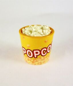 Dollhouse Miniature Bucket of Popcorn, B0367