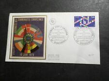 FRANCE 1979, FDC 1° jour, DRAPEAUX, ASSEMBLEE COMMUNAUTES EUROPEENNES, TP 2050