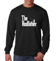 Long Sleeve The Rodfather Shirt Funny Fishing T-Shirt Gift Dad Daddy Fathers Day