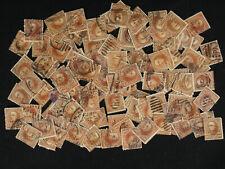 1898 US Sc# 283 10 Cent Webster Lot of 128 Stamps Fancy, Scarce Cancels++ Gems?