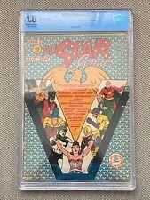 All Star Comics #12 (1942) CBCS 1.8 (like CGC) WW becomes JSA secretary