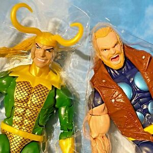 THUNDERSTRIKE & LOKI Marvel Legends Thor Asgard -no Mr Joe Fixit BAF