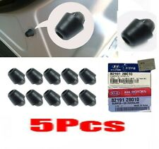 5 PCS Genuine HYUNDAI & KIA  8219128010 Bumper Door Overslam Rubber Stopper 14mm
