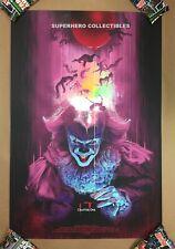 IT - You'll Float Too #22/35 FOIL Variant Screen Print Poster Barret Chapman