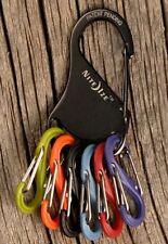 Nite Ize S-Biner KeyRack Carabiner Black KRK-03-01 Key Rack 6 Plastic Colours