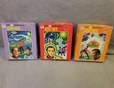 Vintage Star Trek Puzzles by Whitman Cartoon FREE SHIPPING!!!
