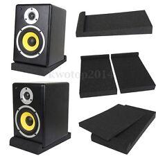 "Two Monitor Isolator Sponge Pads Two 5"" Monitors Foam Speaker Isolation Studio"