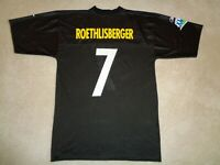 Reebok Pittsburgh Steelers Ben Roethlisberger Super Bowl Football Jersey  Size L