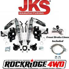 """JKS Jeep Wrangler JK 07-11 Front FOX Coilovers w DSC & Bracket Kit 3""""-3.5"""" Lift"""