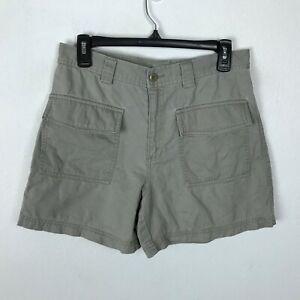 J. Crew Shorts Womens Size 8 Beige Cotton Pockets
