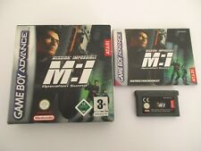 MISSION IMPOSSIBLE OPÉRATION SURMA - NINTENDO GAME BOY ADVANCE GBA - Complet EUR