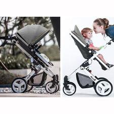 Allis Bebé 2 in1 Cochecito Cochecito Carro Coche llevar la cuna sistema de viaje Gris