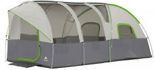 Modified Dome 16 x 9 Tunnel Tent 10-Persons Outdoor Family Camping Hiking Tent