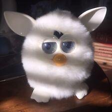 Furby Boom 2012 Hasbro YETI White on White Marshmallow VTG Stocking Gift RARE!