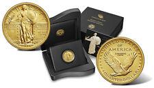 2016 W STANDING LIBERTY QUARTER GOLD CENTENNIAL COMMEMORATIVE COIN W/ OGP 16XC