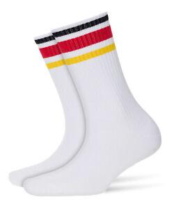 Burlington Ladies Fan Socks Germany Football 36-41 Black/Red/Gold