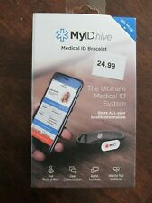 MyID Hive Ultimate Medical ID Bracelet System Complete Profile