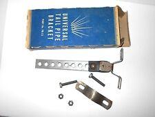 NOS Tail Pipe Bracket Vintage Universal hot rod car part