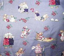 Teddy Bear Sewing Fabric 1 Yard Cotton Blend Alexander Henry Collection Boy Girl