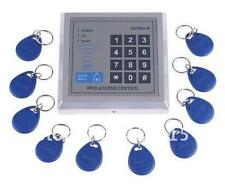 Digital Security Electronic RFID Door Lock Access Controller with 10 Keyfobs