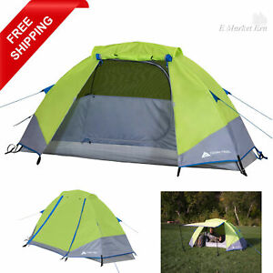 Ozark Trail Himont 1-Person Backpacking Tent with Vestibule Hiking Camping