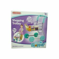 Casdon Shopping Trolley Toy With Play Food Groceries TOY NEW Boxed