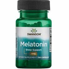 Top Melatoni 3mg Swanson 120 Kaps Schlaflosigkeit Schlaftebletten