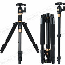 New Professional Ball Head Tripod For Digital Canon fuji Sony Camera DSLR Q555