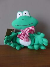 Handmade Fabric Frog Perfect For Home Decoration Shabby Tilda Gift Idea