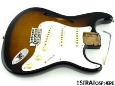LOADED 2020 USA Fender ERIC JOHNSON Thinline Strat BODY Nitro 2TS Sunburst