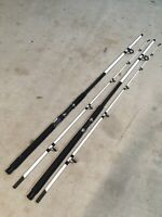 2 TSUNAMI SPEAR Spinning Rods 10' Medium-Heavy Fresh/Saltwater Pier Surf 2pc
