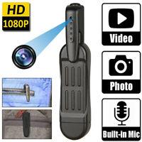 Hidden Pocket Mini Camera Pen Portable HD Body  Video Recorder DVR DV 1080P