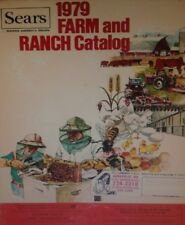 Sears 1979 Suburban Tractor Farm Catalog COLOR Garden Poultry 3-Point Implements