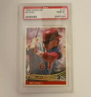 1984 Donruss Bo Diaz #137 Philadelphia Phillies PSA 10