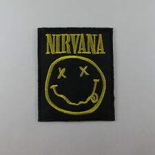 NIRVANA MUSIC SONGS HEAVY METAL EMBROIDERED SEW IRON ON PATCH T-SHIRT JACKET CAP