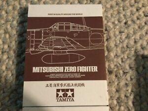 Tamiya Mitsubishi A6M2b Zero Fighter (Zeke) 1:72 Scale Model Warbird Collection