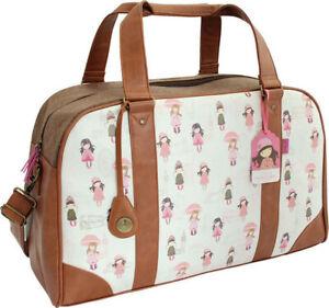 Santoro Gorjuss London Weekender Traveller Bag New RRP-£69.99!!!!!!