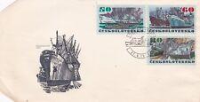K65 enveloppe  CESKOSLOVENSKO TCHECOLOVAQUIE. bateau BRNO 1972
